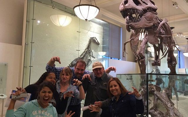 Team takes up Strayboots' museum hunt activity (Courtesy)