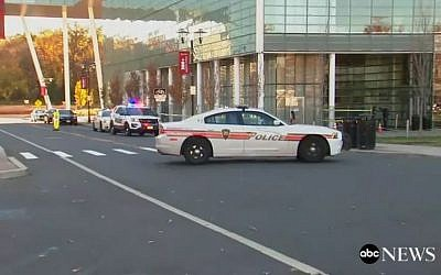 Illustrative: Police cars in New Brunswick, New Jersey. (Screen capture ABC News)