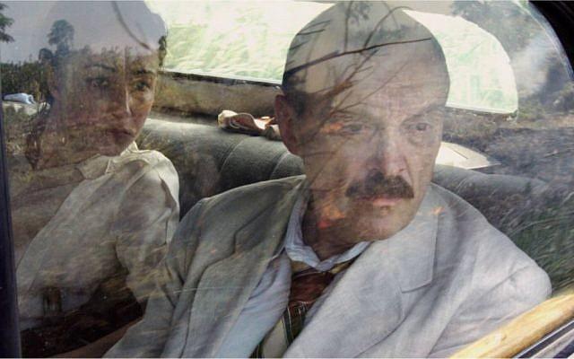 Aenne Schwarz as Lotte Zweig and Josef Hader as Stefan Zweig in 'Stefan Zweig' (Dor Film)