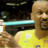 A  2016 commercial showing Maccabi Tel Aviv basketball players promoting iTrader (Screenshot YouTube)