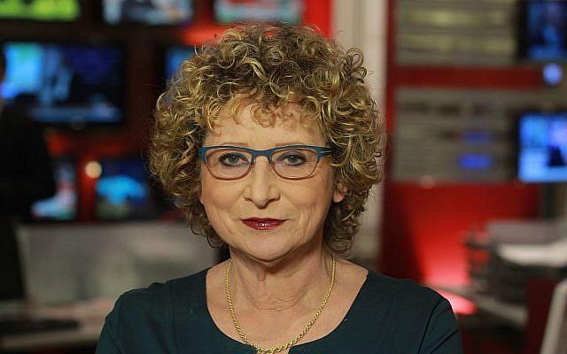 Iconic journalist Tatiana Hoffman, January 5, 2015 (CC-BY-SA-4.0, Eyalbenyaish,Wikimedia Commons)