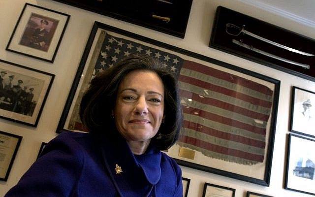 "In this March 6, 2006 file photo, Kathleen ""KT"" McFarland is seen at her home in New York. President-elect Donald Trump has tapped Fox News analyst McFarland to serve as deputy national security adviser. (AP Photo/Jason DeCrow, File)"