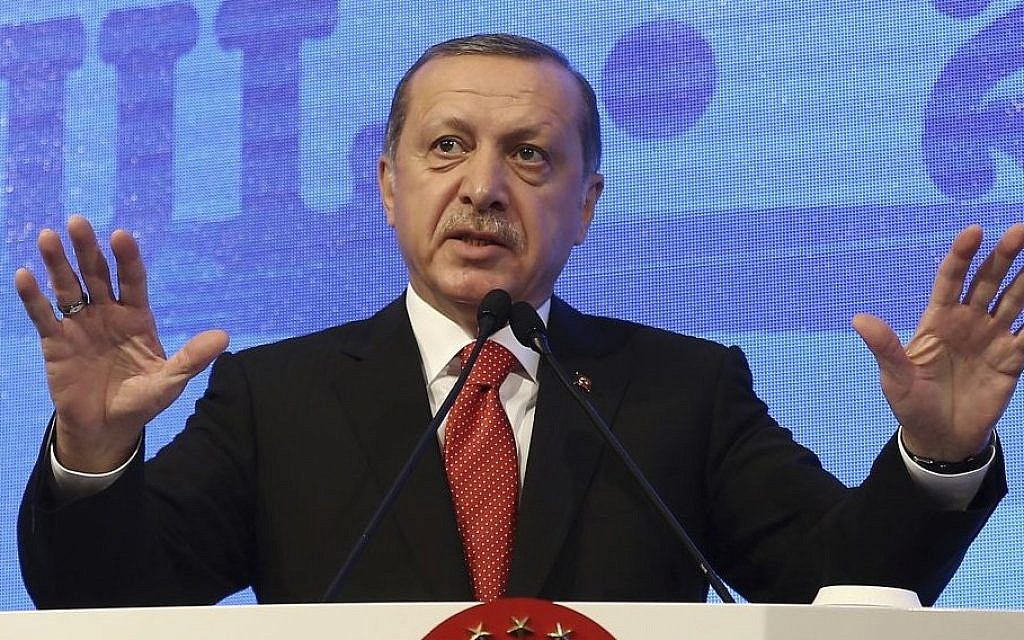 Erdogan To Israeli Tv I Know Hitler Comparison Offensive But It