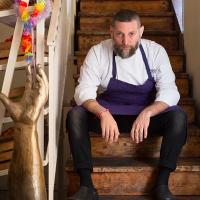 Assaf Granit, one of the three owners and founders of Jerusalem's famed Machneyuda restaurant. Granit will participate in Open Restaurants Jerusalem, held November 22-24, 2016 (Courtesy Machneyuda)