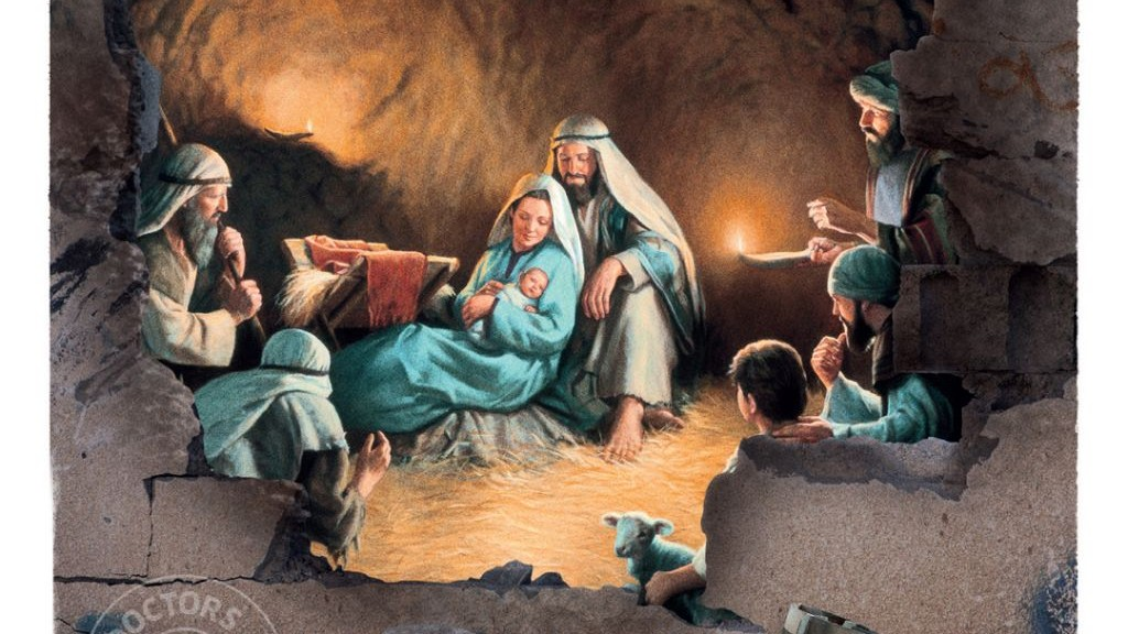 Charity Christmas cards show war-torn Mideast   The Times of Israel