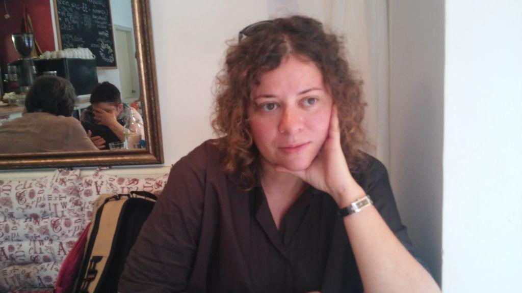 Dina Margolin, November 9, 2016 (Simona Weinglass/The Times of Israel)