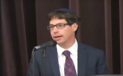 Rabbi Barry Dolinger (YouTube screenshot)