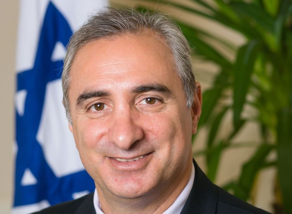 Israel's ambassador to Turkey Eitan Na'eh, whose appointment was announced on November 15, 2016. (courtesy, the Ministry of Foreign Affairs)