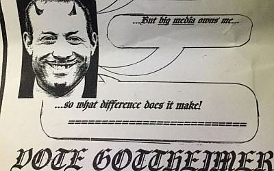 An anti-Semitic flyer circulating in New Jersey's 5th district targets Jewish Democratic candidate Josh Gottheimer.