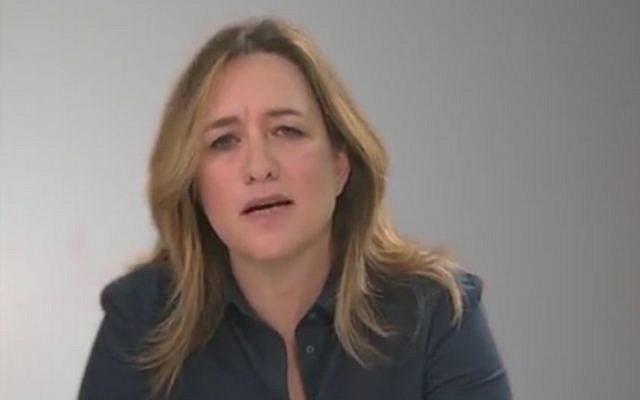 Ilana Dayan, host of the investigative TV program 'Uvda' (screen capture: YouTube)