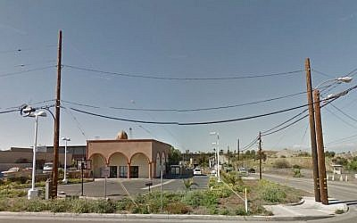 The Islamic Center of Long Beach, California. (Screen capture: Google Street View)