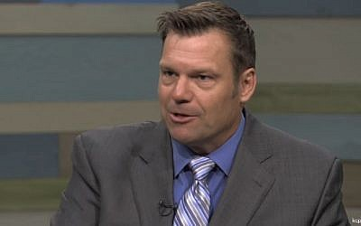 Kansas Secretary of State Kris Kobach. (Screenshot)