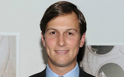 "Jared Kushner attends the premiere of ""A Film Unfinished"" at MOMA – Celeste Bartos Theater in New York City, Aug. 11, 2010. (Jason Kempin/Getty Images via JTA)"
