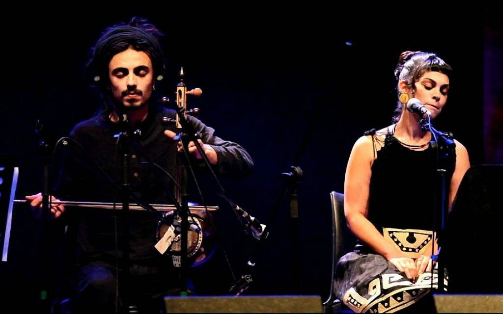 Melding Middle Eastern sound and western grooves at an earlier Oud Festival (Courtesy YouTube screengrab)