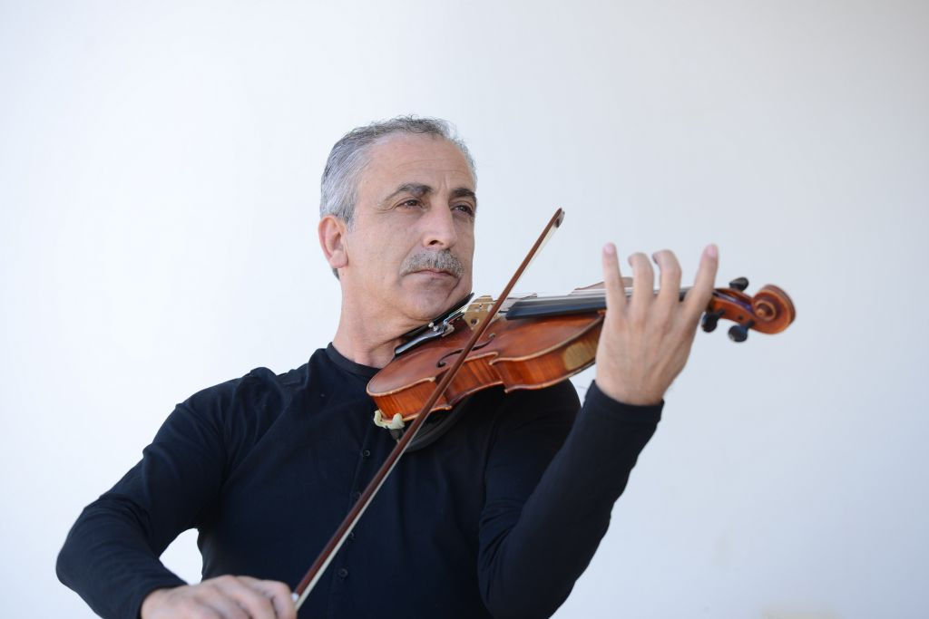 Naseem Dakwar took his years of classical violin training and teaching and turned it to the oud (Courtesy Naseem Dakwar)