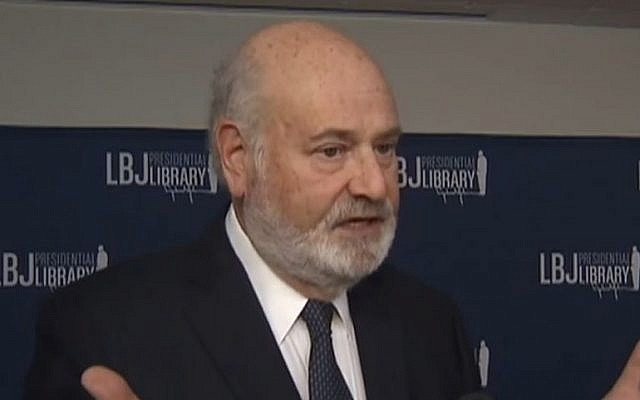 Filmmaker Rob Reiner, November 2016 (Screen capture: YouTube)
