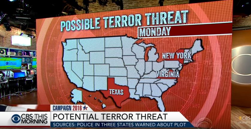 potential terror threats to the united states essay Of mass destruction by terrorist organizations to the united states of essay sample on the the states with a potential nuclear threat to the united states.
