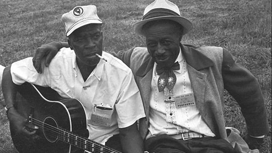 Skip James, left, and Son House. (Courtesy Avalon Films)