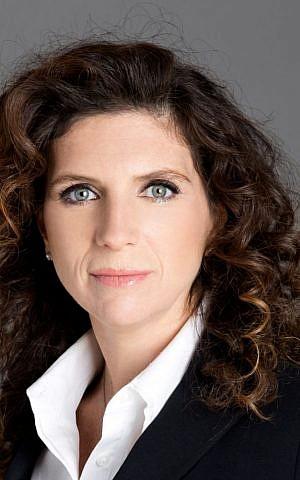 Orna Kleinmann, managing director of SAP Labs Israel (Courtesy)