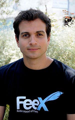 Yoav Zurel, CEO of FeeX (Courtesy: Sahar Rott)
