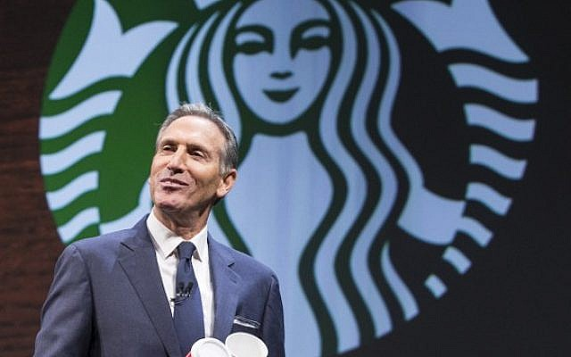 Starbucks CEO Howard Schultz (AFP PHOTO / GETTY IMAGES NORTH AMERICA / STEPHEN BRASHEAR)