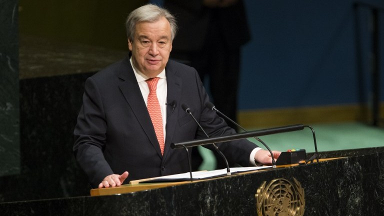 Image result for secretary general guterres