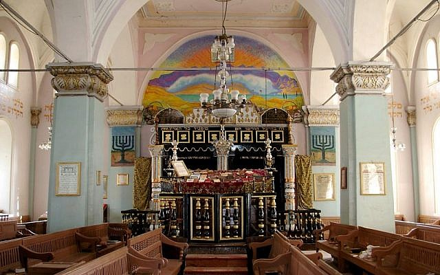 Illustrative photo of a Georgian synagogue in the city of Oni. (CC BY-SA, Susan Astray, Flickr)