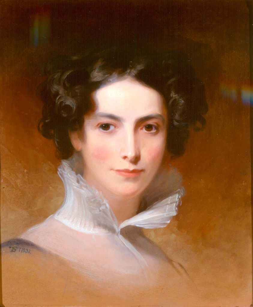 Portrait of influential Philadelphia-born Rebecca Gratz, by artist Thomas Sully. (Courtesy NYHS)