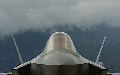 Illustrative photo of an F-35 fighter jet. (US DoD/Staff Sgt. Devin Doskey, US Air Force)