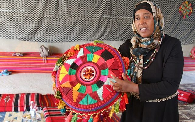 Amal Abo Alqom and her organization, Women for Themselves, work to empower and educate Bedouin women in the Negev. (Shmuel Bar-Am)