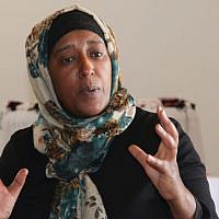 Amal Abo Alqom, resident of the Bedouin village of Segev Shalom and founder of the non-profit Women for Themselves. (Shmuel Bar-Am)