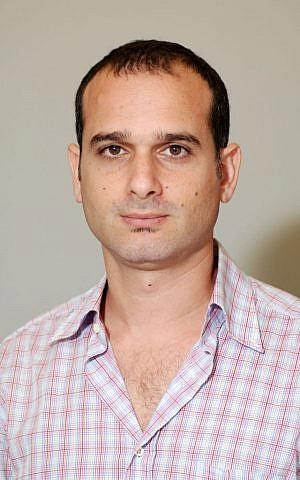 Dr. Amir Bahar of Nurami Medical. (Veronica Szarejko)