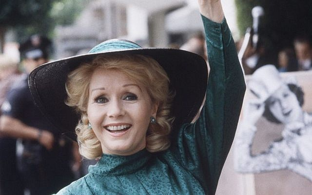In this Feb. 15, 1984, file photo, actress Debbie Reynolds appears at Hollywood Walk of Fame ceremonies in Los Angeles. (AP /Wally Fong, File)