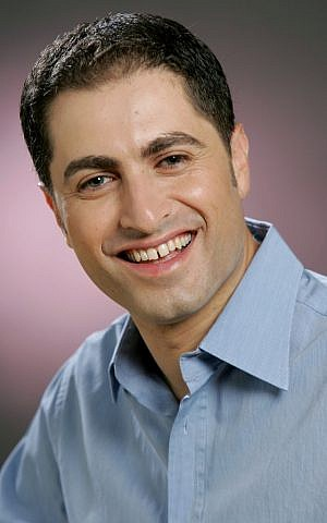 Avi Bar is Director-General and co-owner of Channel 20 (Moshe Shai/Flash90)