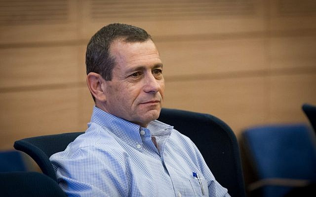 Head of Shin Bet security service Nadav Argaman attends a Foreign Affairs and Defense committee meeting in the Knesset, July 12, 2016. (Miriam Alster/FLASH90)