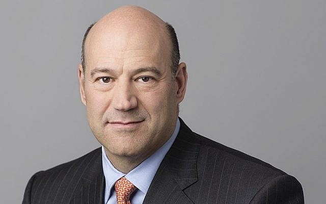 A February 2013 picture of President and COO of Goldman Sachs Gary Cohn. (CC BY-SA Wikimedia commons)