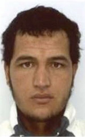 The photo which was sent to European police authorities and obtained by AP on Wednesday, Dec. 21, 2016 shows Tunisian national Anis Amri, who is wanted by German police for an alleged involvement in the Berlin Christmas market attack. (Police via AP)