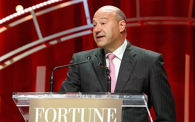 President and COO of The Goldman Sachs Group Gary Cohn speaks onstage during Fortune's Most Powerful Women Summit - Day 2 at the Mandarin Oriental Hotel on October 13, 2015 in Washington, DC.  (Photo by Paul Morigi/Getty Images for Fortune/Time Inc)