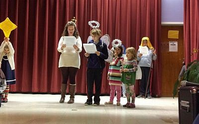 A holiday pageant recently put on by the New York metropolitan area Interfaith Community. (Nathaniel Johnston)