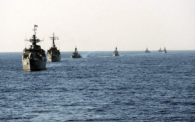 Illustrative: Iranian Navy exercise in 2011. (CC BY, Mohammad Sadegh Heydari, Wikimedia Commons)