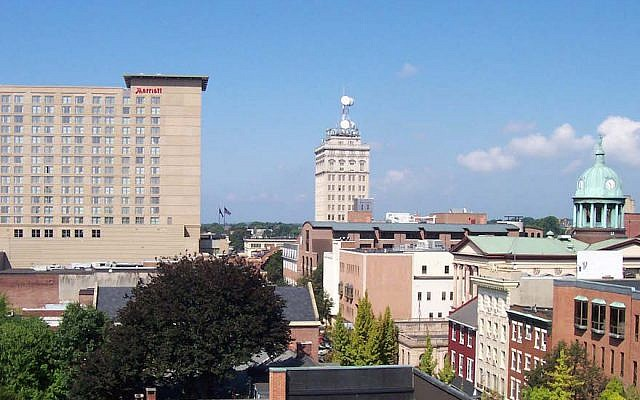 A view of downtown Lancaster, Pa. (Randolph Carney/Wikimedia Commons, CC BY-SA 3.0)