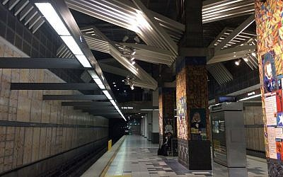 Illustrative photo of Universal City metro station in Los Angeles, California, January 2015. (CC BY-SA, Han Sang Yoon, Wikipedia)