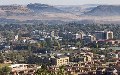 Maseru, the capital of Lesotho. An Israeli company was convicted for bribing a government official of the African country. (CC BY, OER Africa, Flickr)