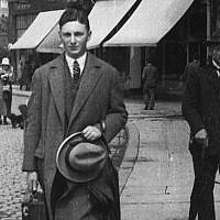 German-Jewish art deal Max Stern in Berlin circa 1925. (Wikimedia Commons)