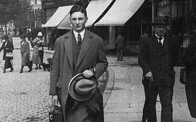 German-Jewish art deal Max Stern in Berlin circa 1925. (Wikimedia Commons)
