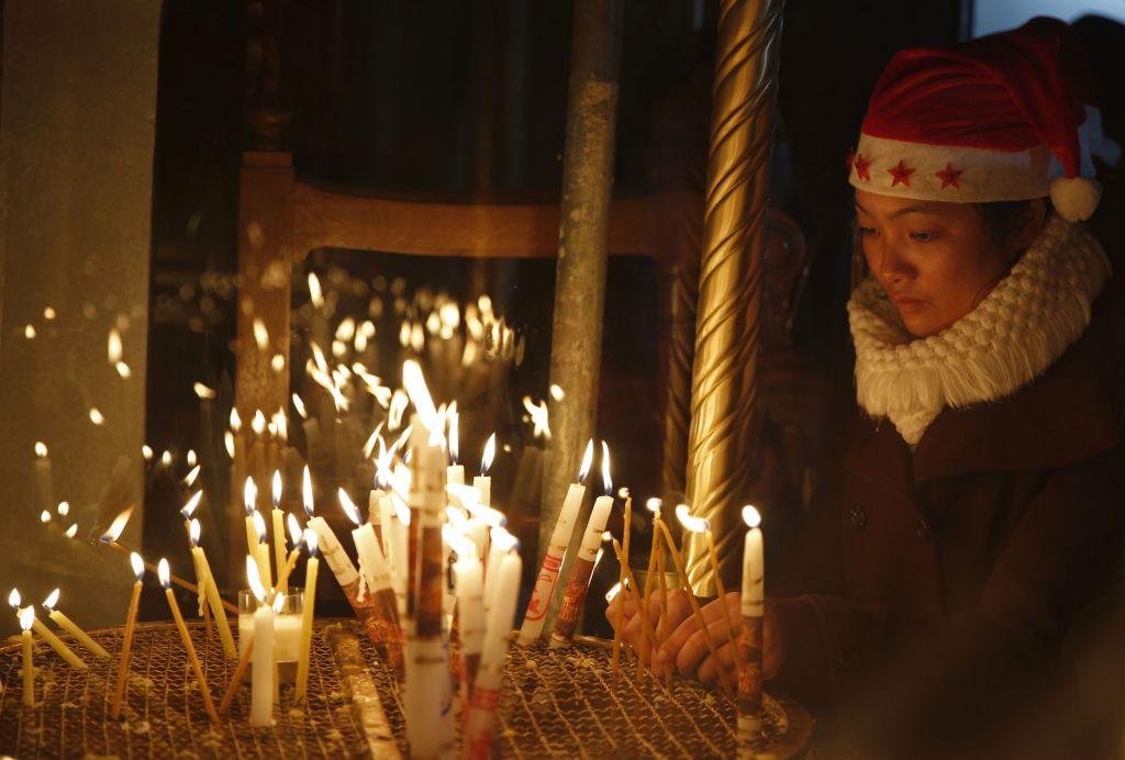 Thousands Of Faithful Celebrate Christmas In Bethlehem The Times