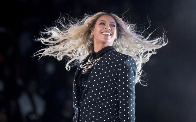 In this November 4, 2016, photo, Beyonce performs at a Get Out the Vote concert for Democratic presidential candidate Hillary Clinton in Cleveland.  (AP Photo/Andrew Harnik, File)