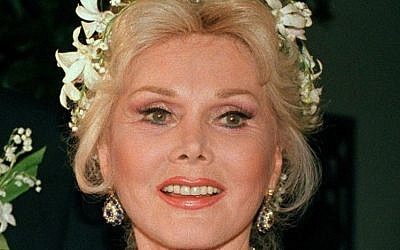 In an Aug. 15, 1986 file photo, actress Zsa Zsa Gabor is shown Los Angeles. Gabor died Sunday, Dec. 18, 2016, of a heart attack at her Bel-Air home, her husband, Prince Frederic von Anhalt, said. She was 99. (AP/File)