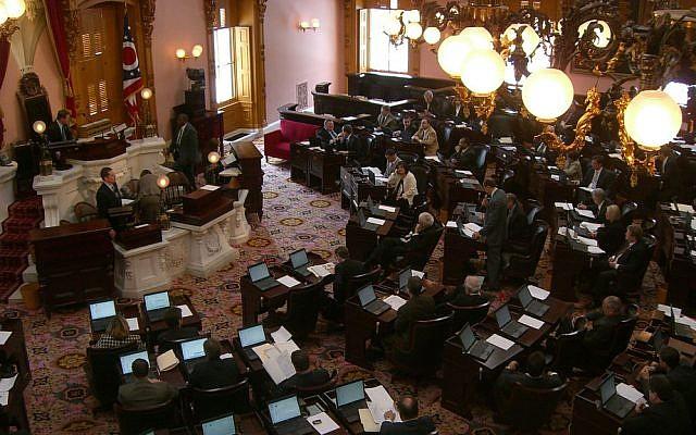 Ohio House of Representatives Chamber. (Wikipedia/Joshua Rothaas/CC BY 2.0)