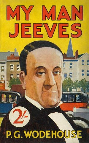 The cover 'My man Jeeves' by author P.G. Wodehouse. (Public domain/Wikimedia)